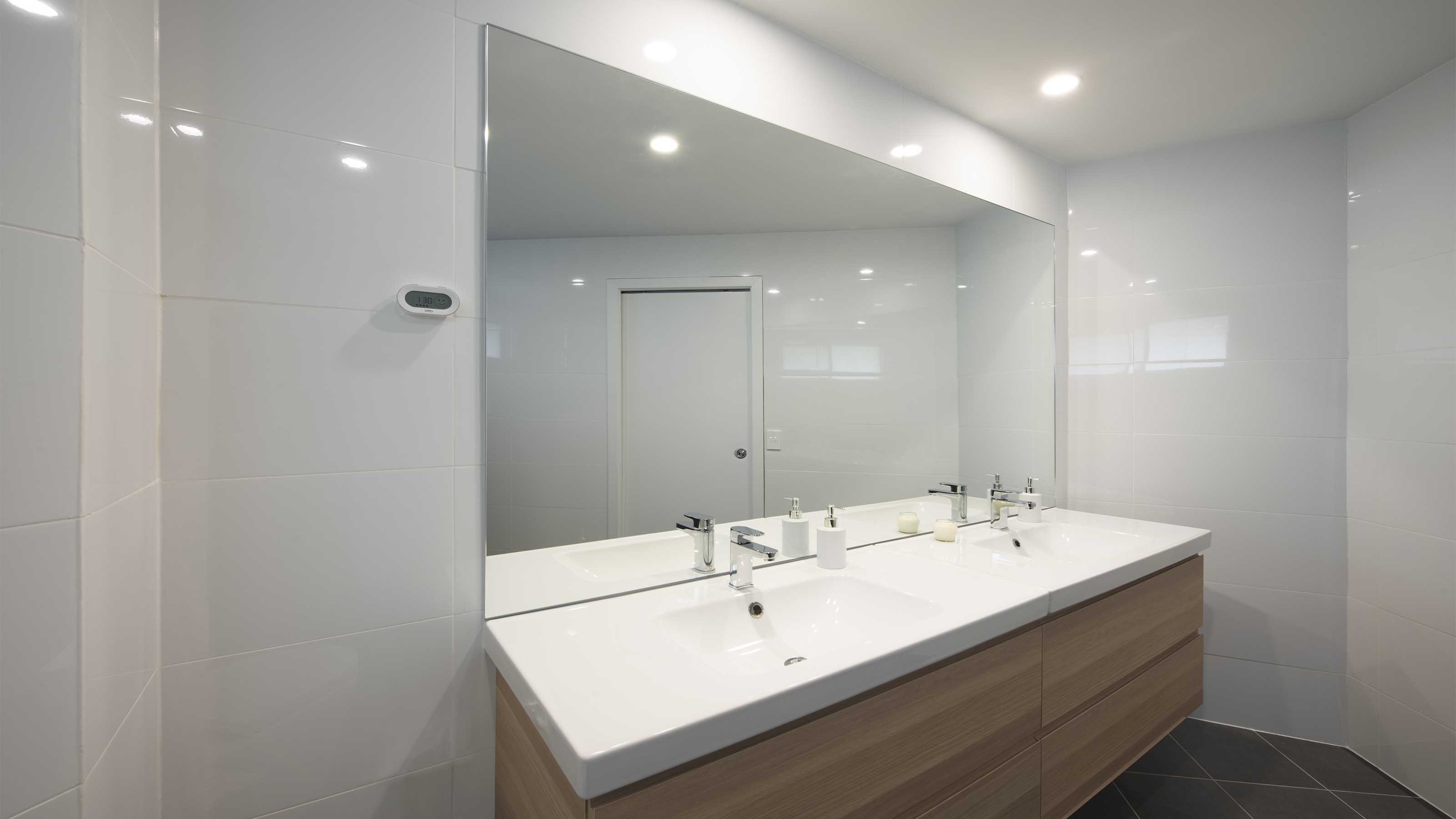 reFLECT™ - Vanity Mirror - Bathroom Ensuite Renovations - Hamlyn Heights - Supplied & Installed by - geelongsplashbacks.com.au